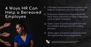 employee mourning