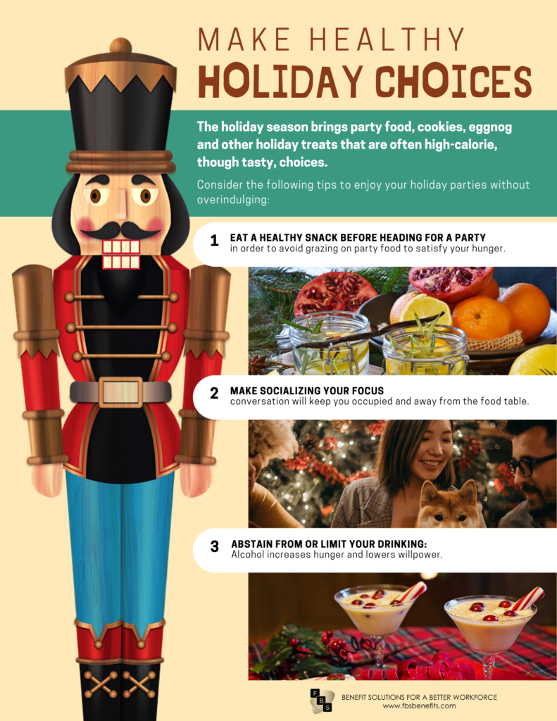 healthy holiday choices