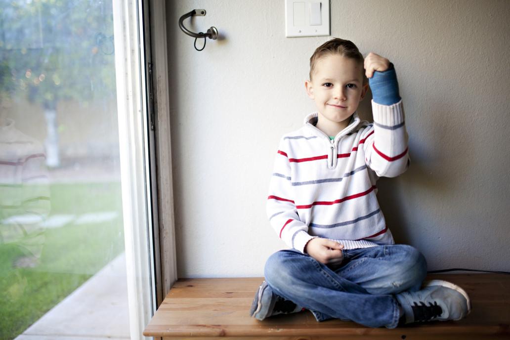 accident insurance cast arm child
