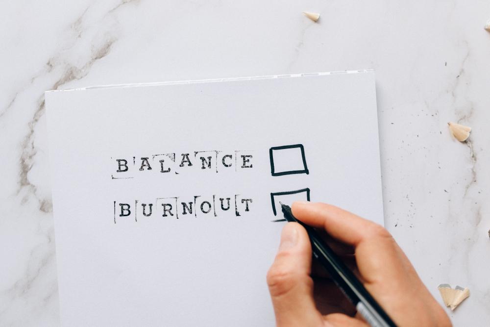 balance burnout
